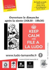 Dimanches des parents @ Ludothèque La Marelle